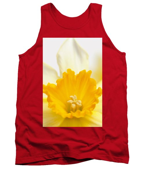 Abstract Daffodil Tank Top
