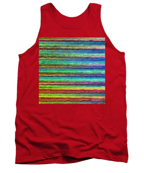 Abstract Lines 8 Tank Top