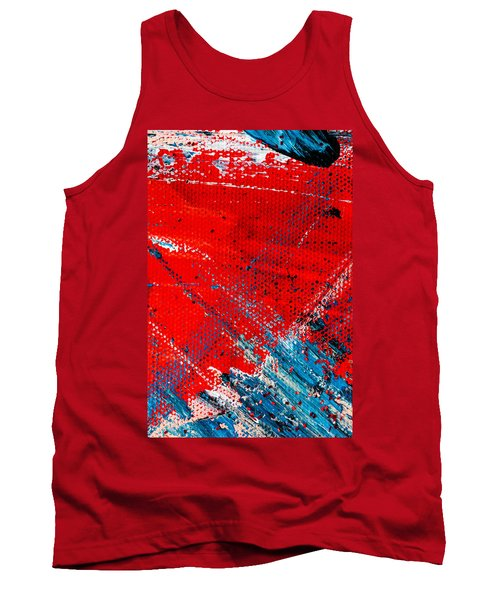 Abstract Original Artwork One Hundred Phoenixes Untitled Number Five Tank Top