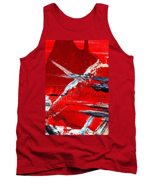 Abstract Original Artwork One Hundred Phoenixes Untitled Number Seven Tank Top