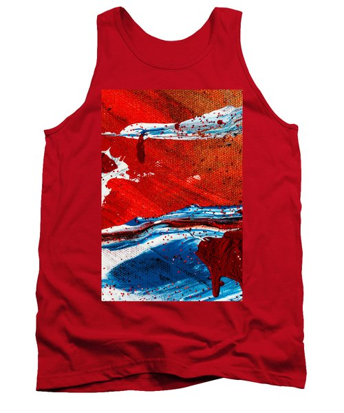 Abstract Original Artwork One Hundred Phoenixes Untitled Number Three Tank Top