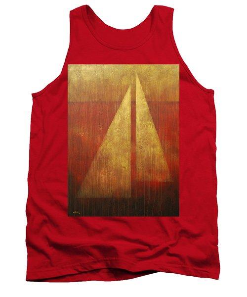 Abstract Sail Tank Top