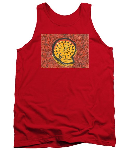 African Shell Pattern Tank Top
