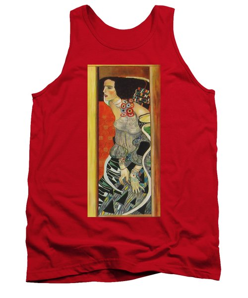 After Gustav Klimt Tank Top