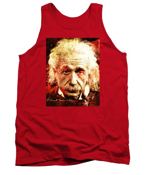 Albert Einstein  Tank Top