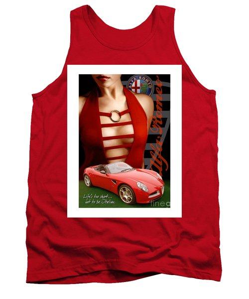 Alfa Romeo Dress Tank Top