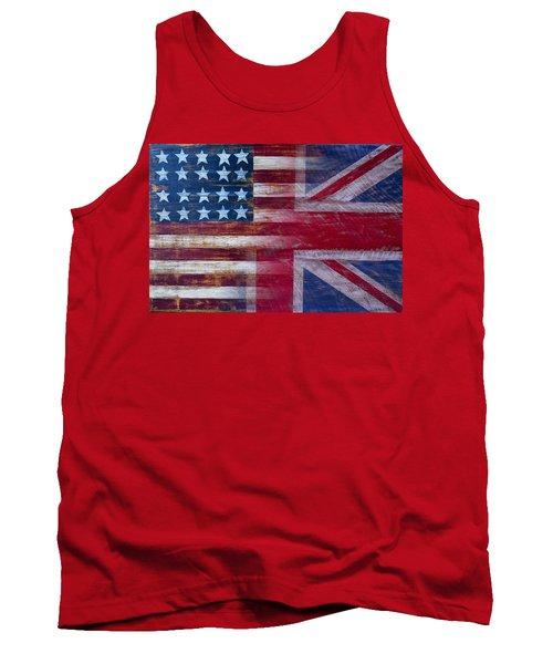 American British Flag Tank Top