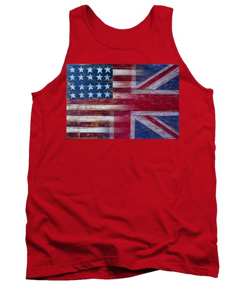 American British Flag Tank Top