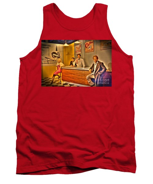 American Cinema Icons - 5 And Diner Tank Top