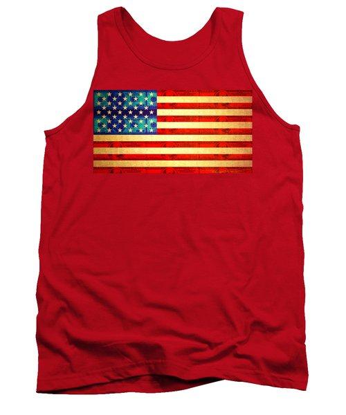 American Money Flag Tank Top