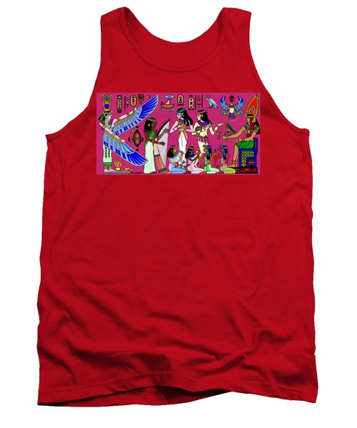 Ancient Egypt Splendor Tank Top