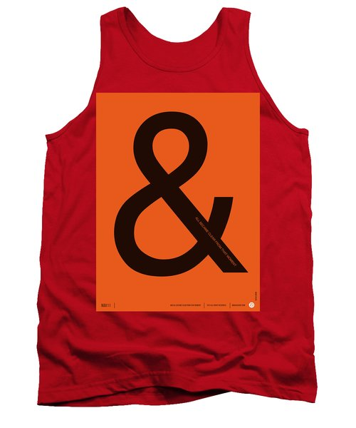 And All Became Clear Poster Tank Top