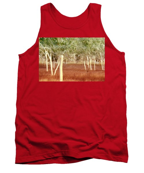 And The Trees Danced Tank Top by Holly Kempe
