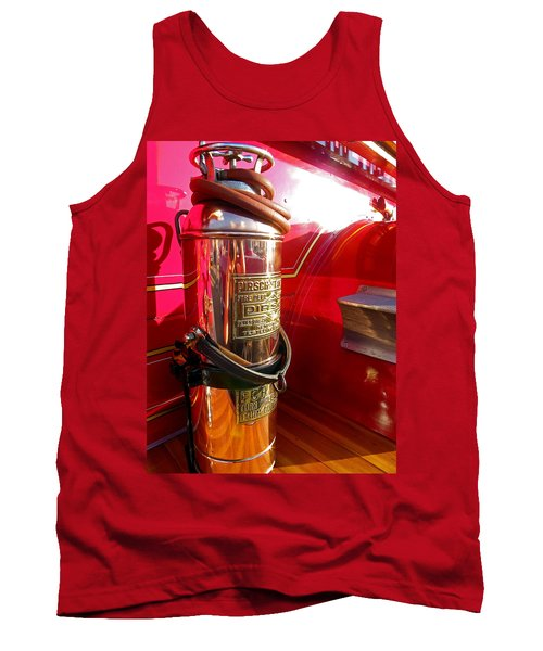 Antique Fire Extinguisher Tank Top