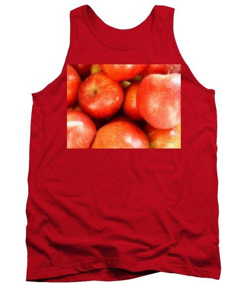 Apples Tank Top by Cynthia Lassiter