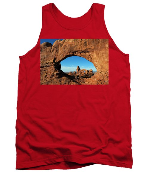 Tank Top featuring the photograph Arches National Park 61 by Jeff Brunton