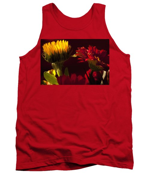 Asters In The Light Tank Top