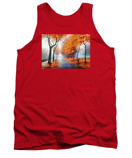 Autumn Boulevard Tank Top