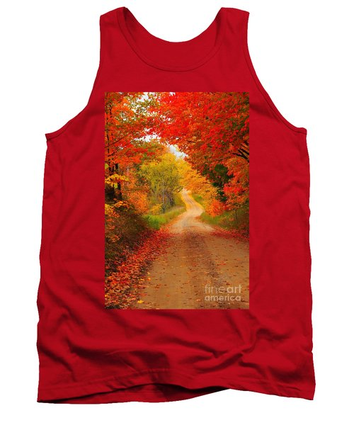 Autumn Cameo Tank Top