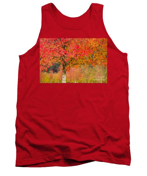 Autumn Fire Tank Top by Sonya Lang