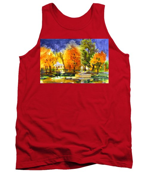 Autumn Gold 2 Tank Top