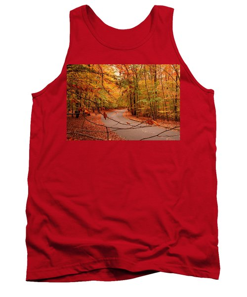 Autumn In Holmdel Park Tank Top