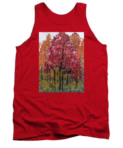 Autumn In Nashville Tank Top by Holly Carmichael