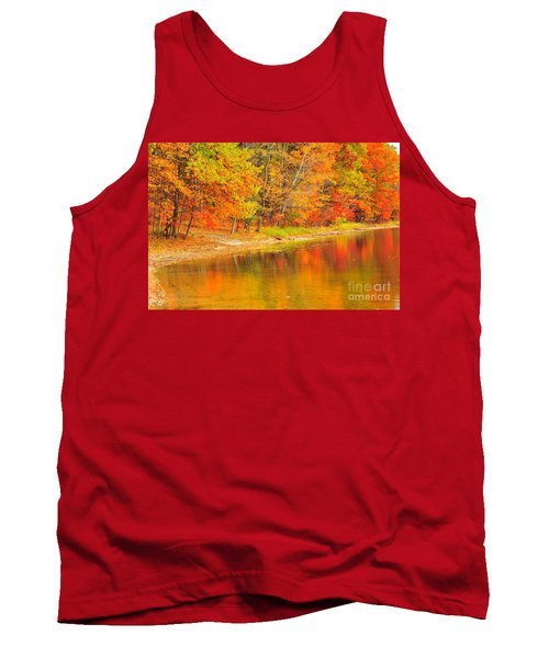 Tank Top featuring the photograph Fire Balls by Terri Gostola
