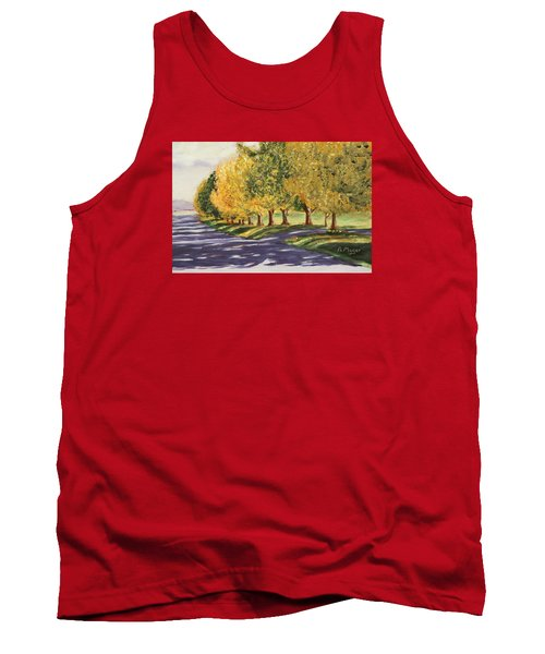 Autumn Lane Tank Top