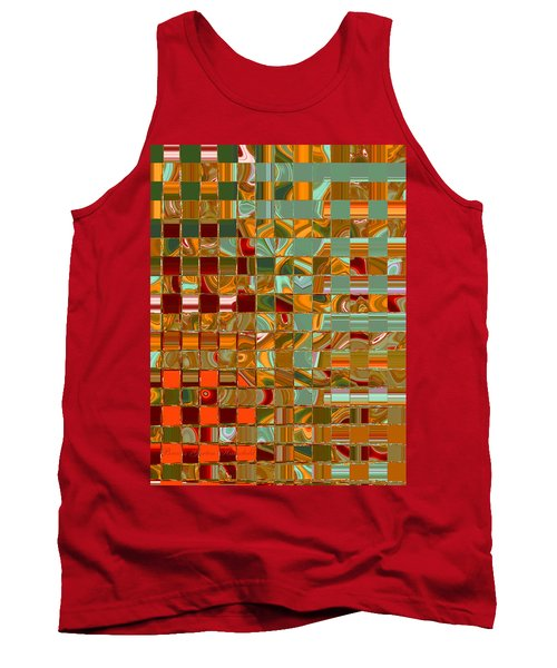 Autumn Leaves 8 - Abstract Images - Manipulated Photograph Tank Top