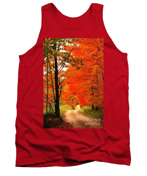 Autumn Orange 2 Tank Top