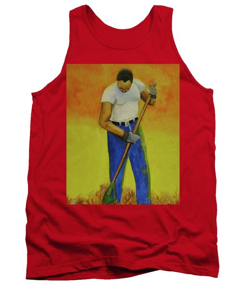 Autumn Raking Tank Top
