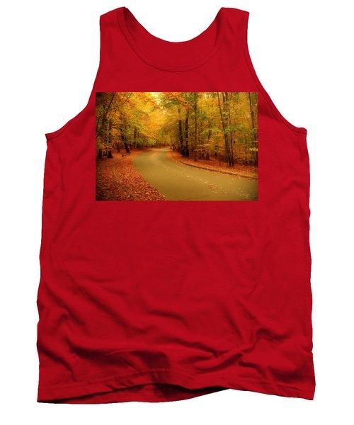 Autumn Serenity - Holmdel Park  Tank Top