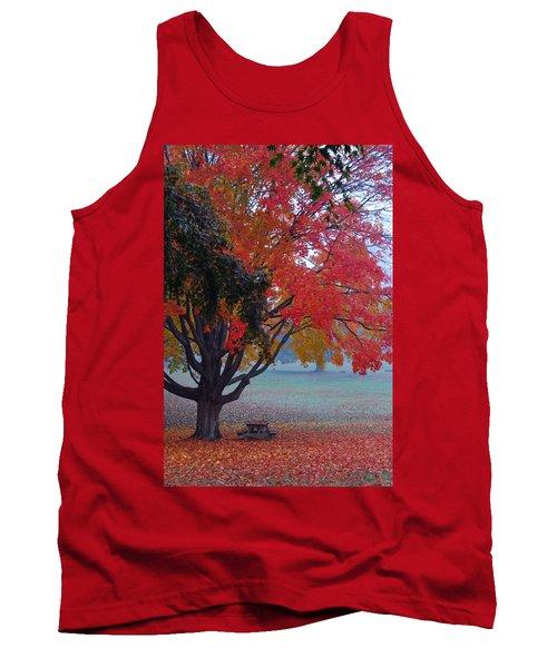 Autumn Splendor Tank Top by Lisa Phillips