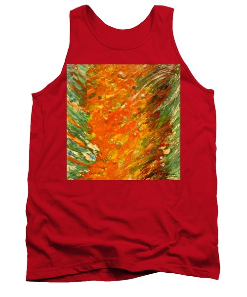 Autumn Wind Tank Top by Joan Reese
