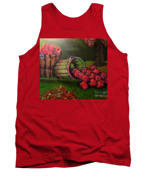 Autumn's Bounty In The Volunteer State Tank Top by Kimberlee Baxter