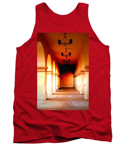 Balboa Park At Sunrise Xl Tank Top