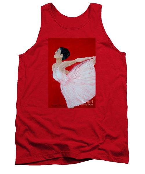 Ballerina.  Grace. Inspirations Collection Tank Top by Oksana Semenchenko