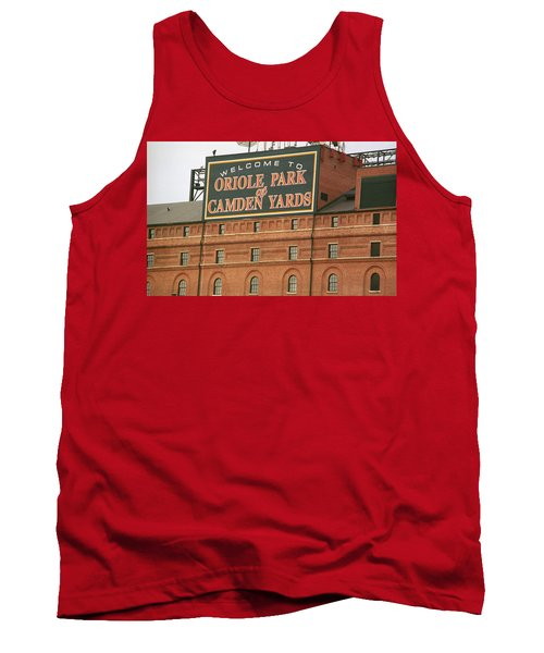 Baltimore Orioles Park At Camden Yards Tank Top by Frank Romeo