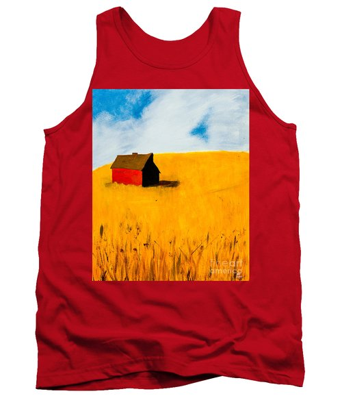 Barn Tank Top by Stefanie Forck