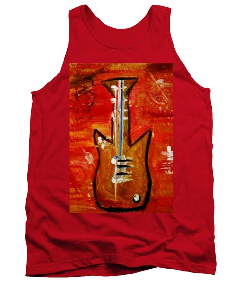Bass Guitar 1 Tank Top by Kelly Turner