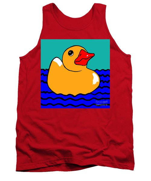 Rubber Ducky Tank Top