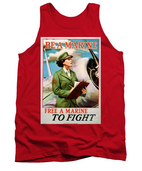 Be A Marine - Free A Marine To Fight Tank Top