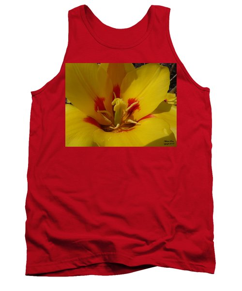 Be Drawn In - Signed Tank Top
