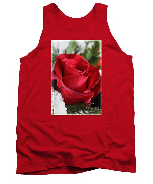 Be Inspired With Flowers And Art Tank Top by Ella Kaye Dickey