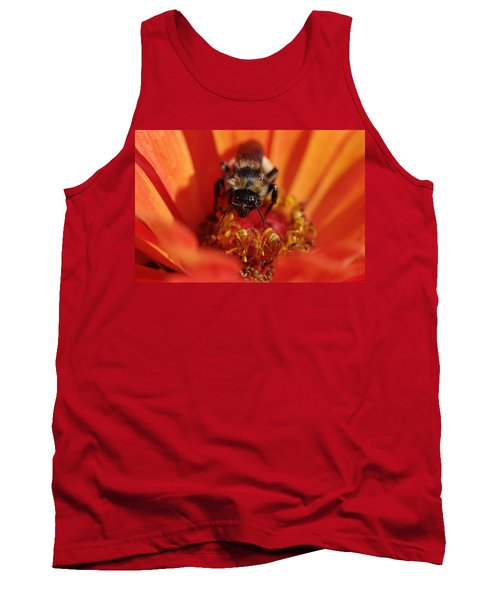Bee Taking Care Of Business Tank Top by Greg Graham
