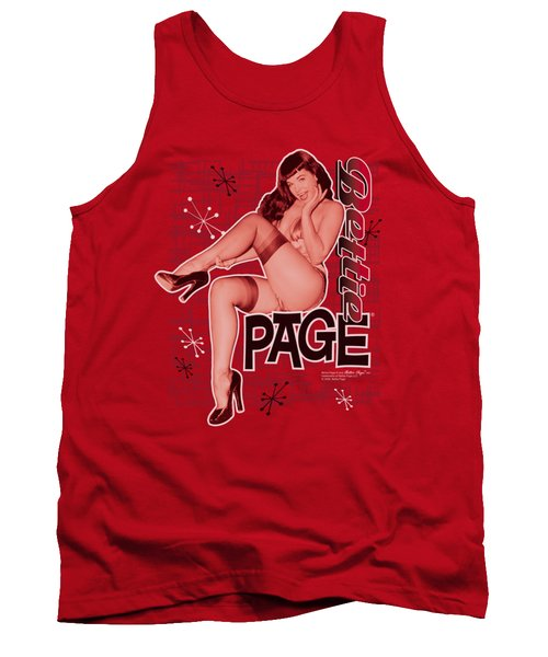 Bettie Page - Retro Hot Tank Top