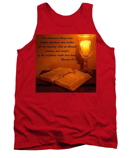 Bible By Candlelight Tank Top