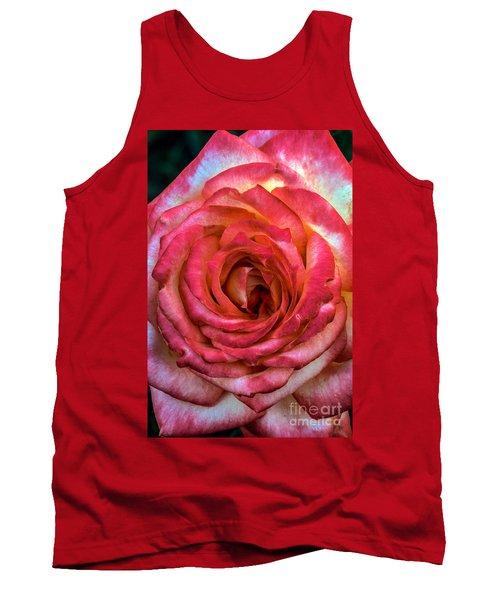 Bicolor Rose Tank Top