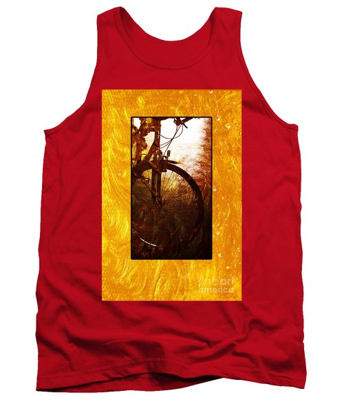 Tank Top featuring the photograph Bicycle  by Randi Grace Nilsberg